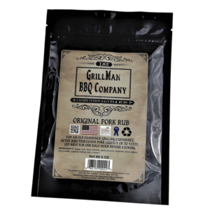 Our original pork rub, for an old fashioned grilling experience. | Grillman BBQ Company